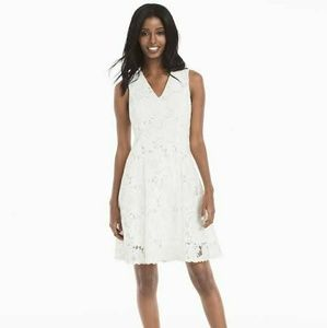 NWT White House Black Market Lace Fit and Flare